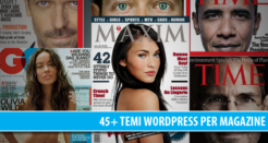 30+ temi professionali Magazine per WordPress