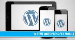 14 temi WordPress professionali per Mobile