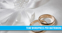 13 Temi WordPress professionali per Matrimonio