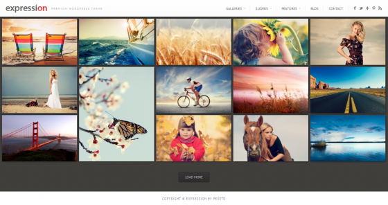 Expression - themeforest