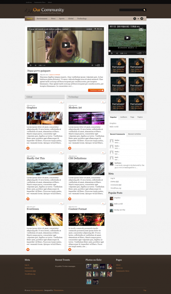 Our Community - ThemeForest