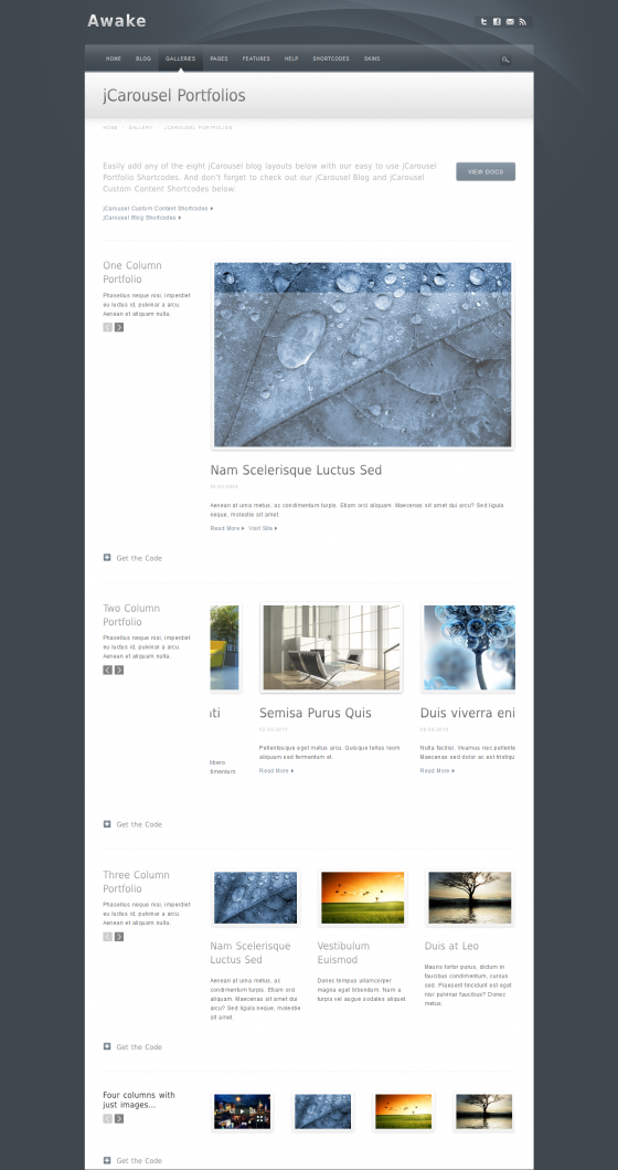 Awake - ThemeForest