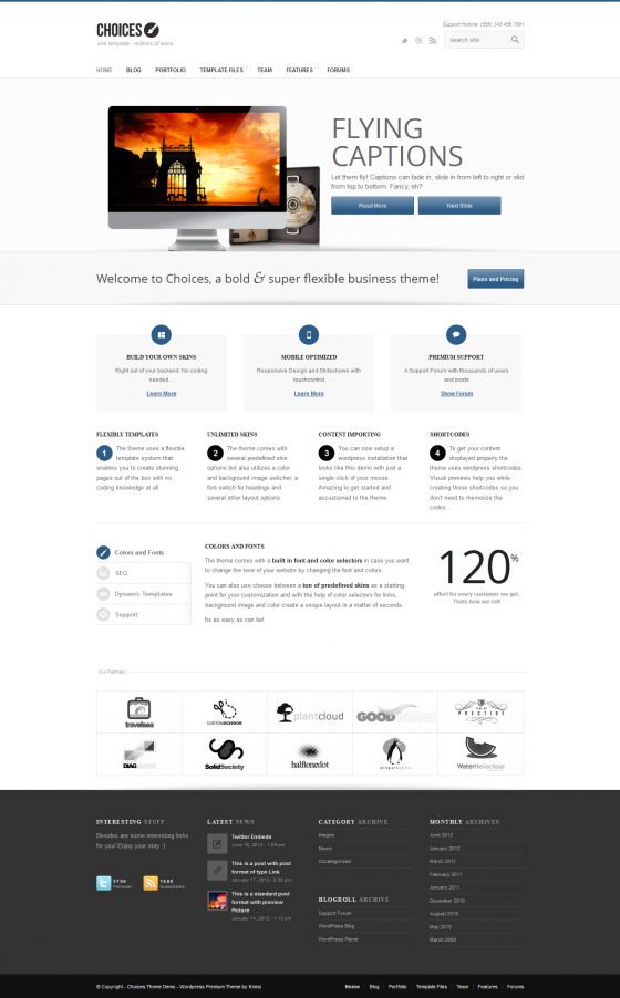 Choices - ThemeForest