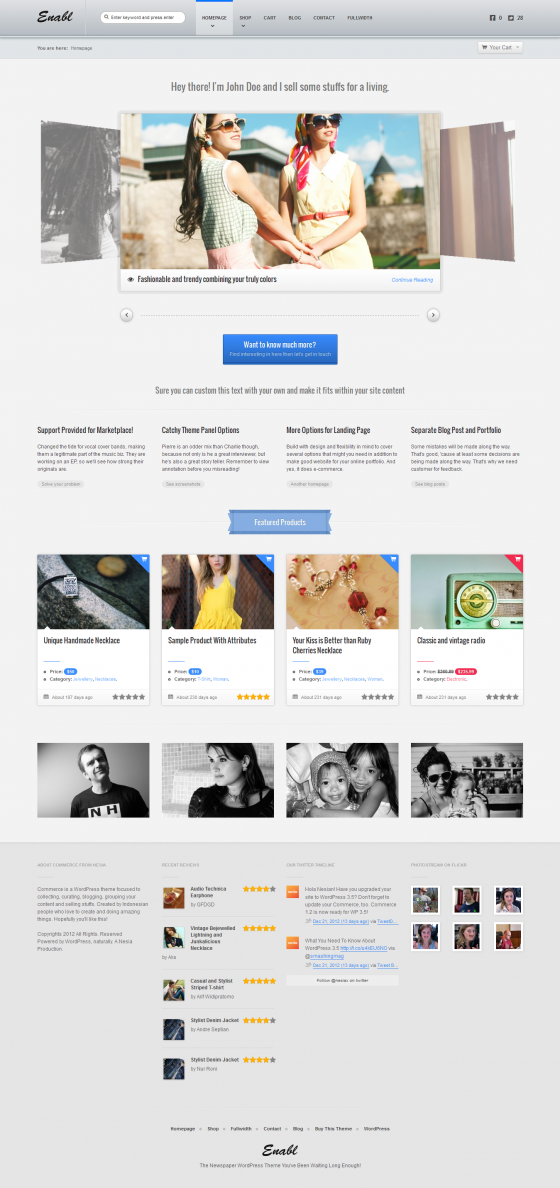 Commerce - ThemeForest