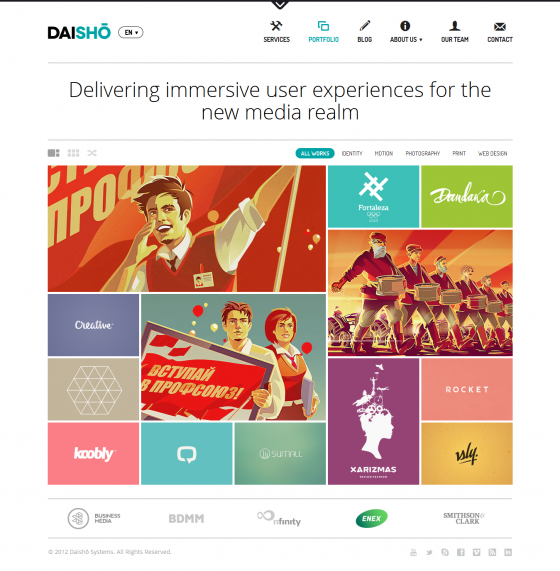 Daisho - ThemeForest