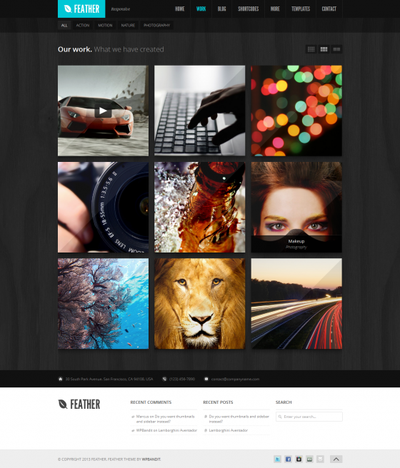 Feather - ThemeForest