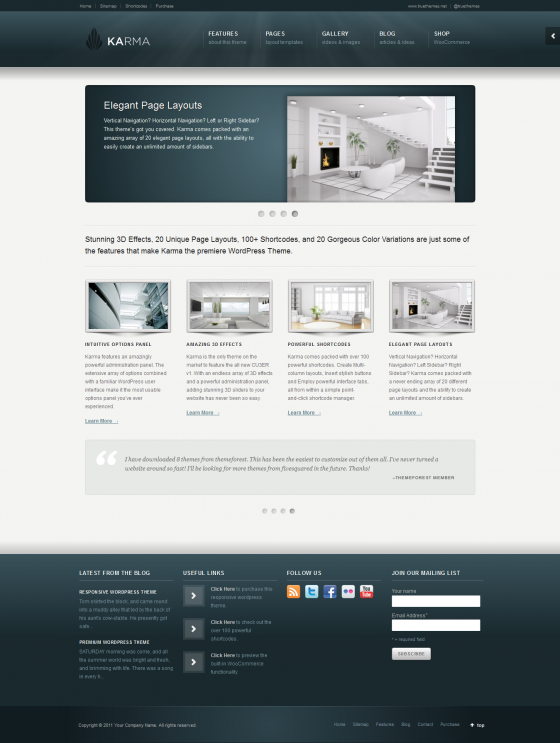 Karma - ThemeForest