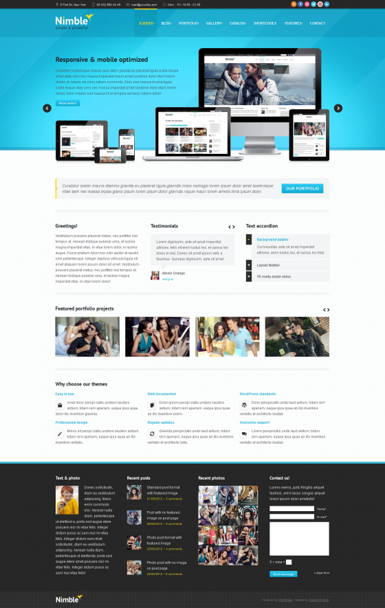 Nimble - ThemeForest
