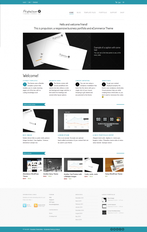 Propulsaion - ThemeForest
