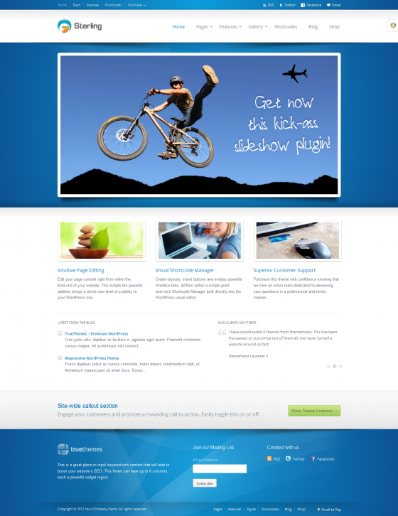 Sterling - ThemeForest