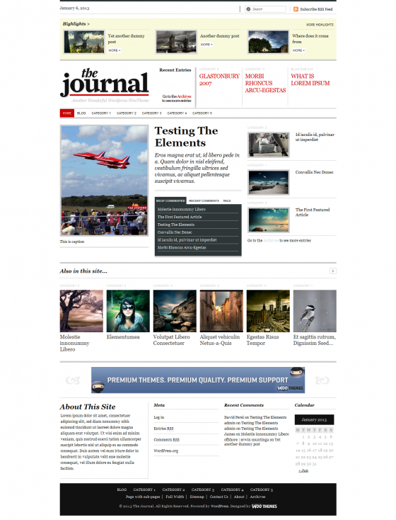 The Journal 0 -WooThemes