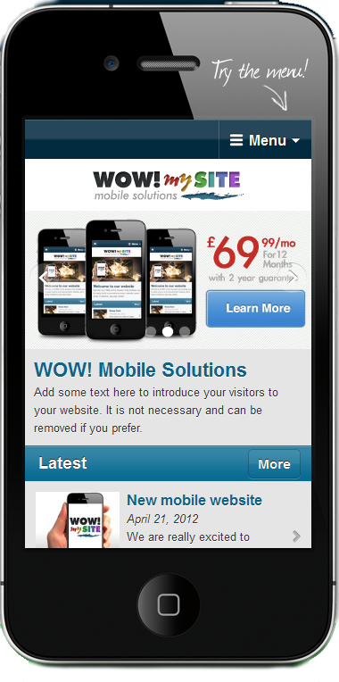 WOW! MobileSolutions - ThemeForest