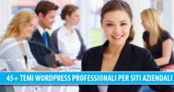 45+ temi WordPress professionali per siti Aziendali, Business