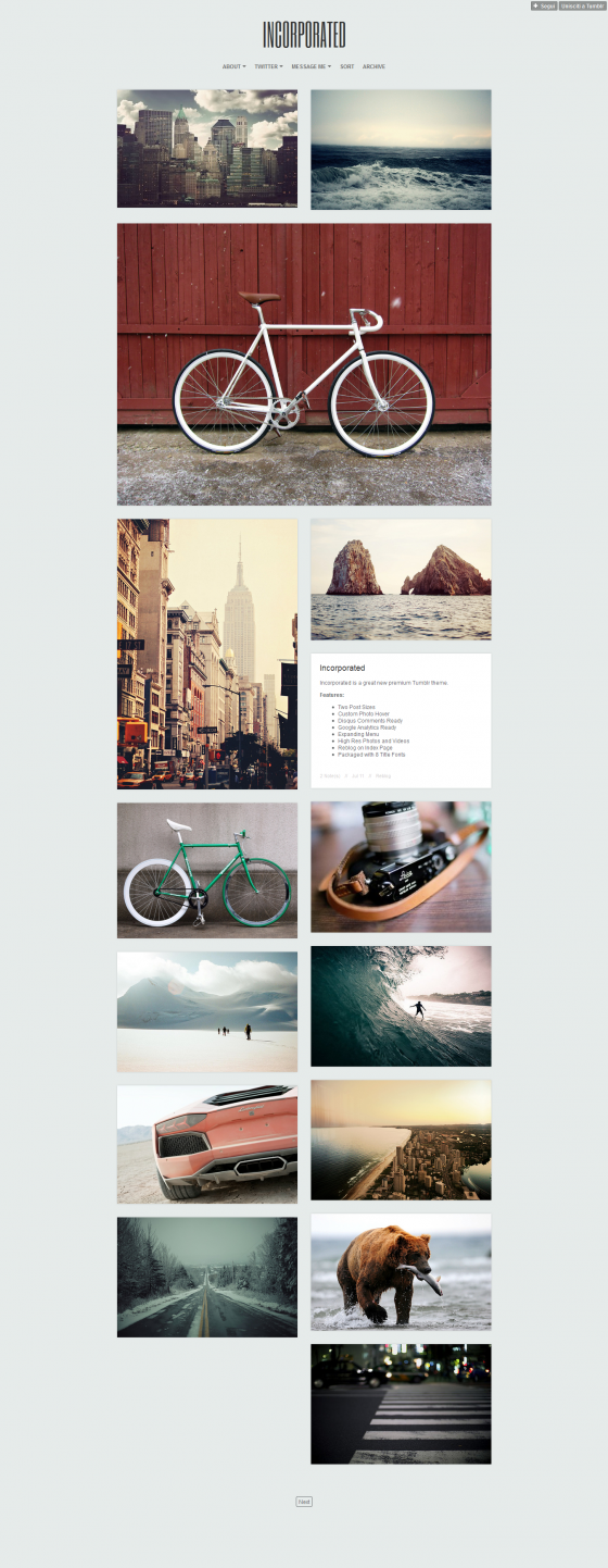 Incorporated - ThemeForest