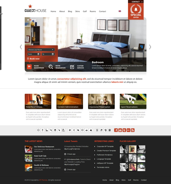 GuestHouse - ThemeForest