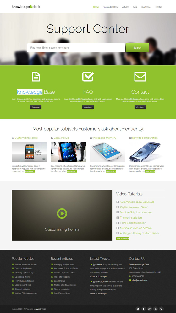 KnowledgeDesk - Mojo-Themes