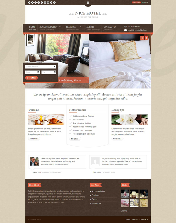 NiceHotel - ThemeForest