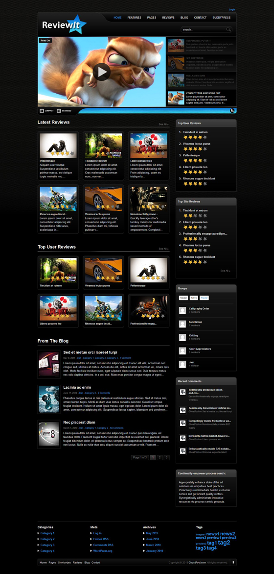 ReviewIt - ThemeForest