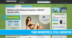 4 temi WordPress professionali in stile Groupon (coupon – deal)