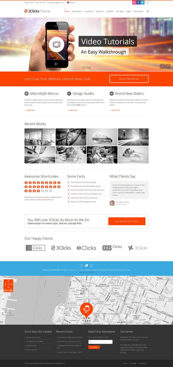 3Clicks - ThemeForest