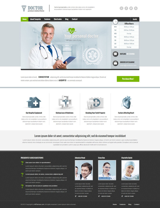 Doctor - ThemeForest