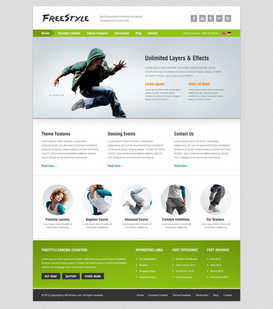 Freestyle - ThemeForest