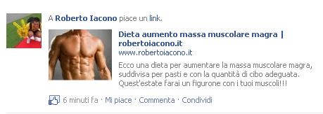 impostare l'anteprima dell'articolo da condividere su facebook