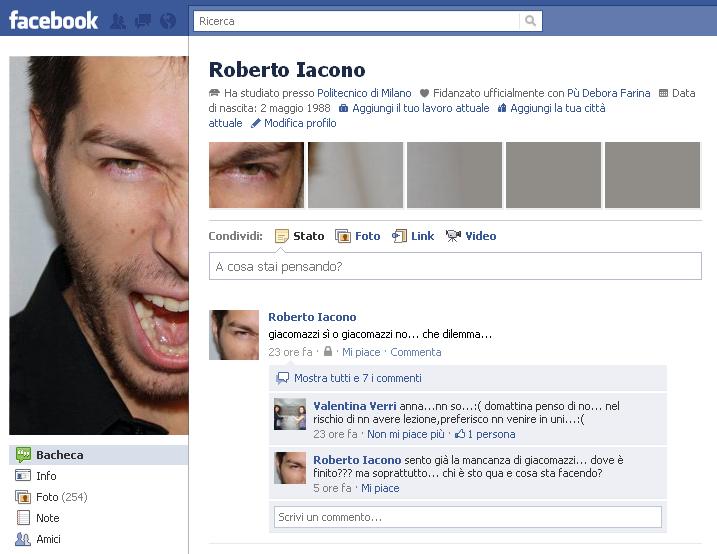 Migliori profili di facebook - profilo facebook hack