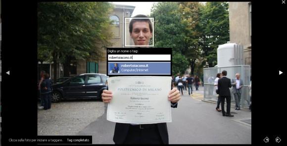 Come taggare le pagine (fan page) nelle foto di Facebook