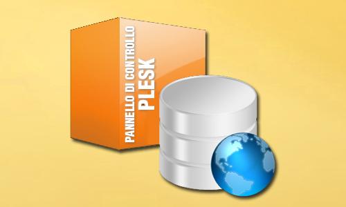 Accedere al Plesk e creare un Database