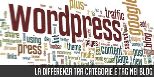 La differenza tra Categorie e Tag nei blog
