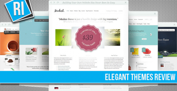Elegant Themes Review - Elegant Premium WordPress Themes