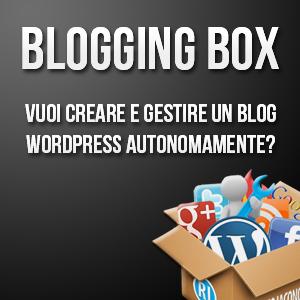 Vuoi creare e gestire il tuo blog WordPress autonomamente?
