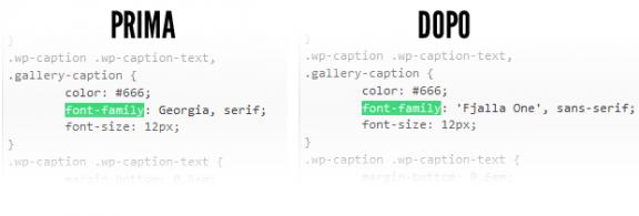 codice stile