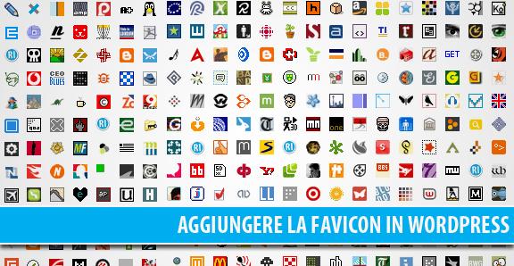 Aggiungere la favicon a WordPress: come e perchè