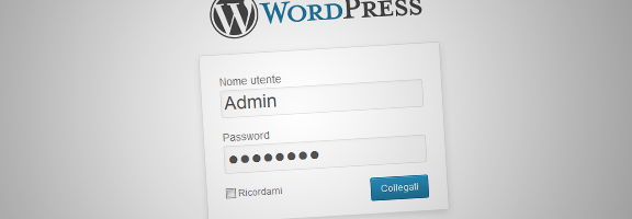 Login in WordPress