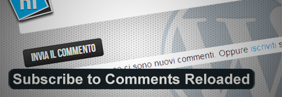 Subscribe to Comments Reloaded plugin wordpress