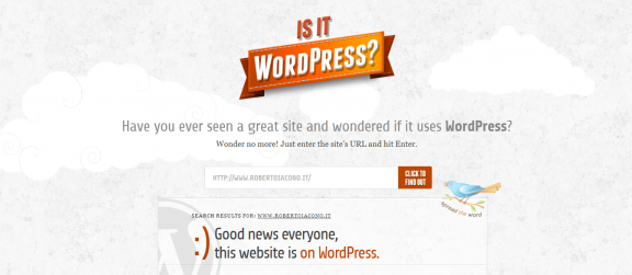 IsItWordpress