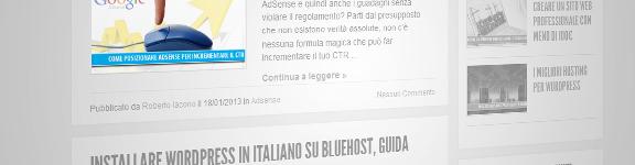 Inserire l'immagine di anteprima di un post in homepage in WordPress