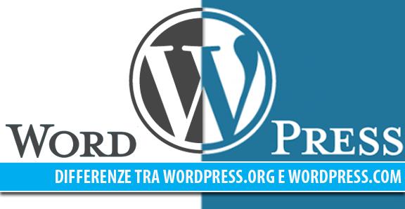 Differenze tra WordPress.org e WordPress.com, quale dovresti scegliere?