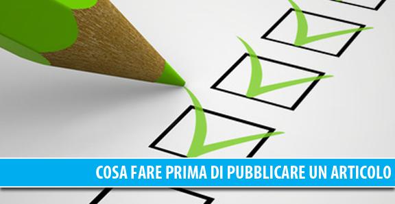 Lista delle cose da fare prima di pubblicare un articolo sul blog - Piastrella scheggiata cosa fare ...
