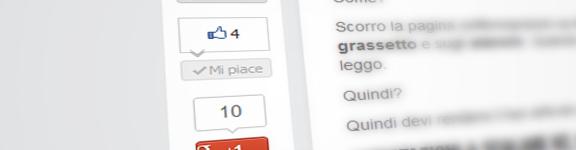 Aggiungere pulsanti sociali laterali nella sharebar in WordPress senza plugin
