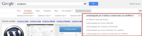 Google immagini CC