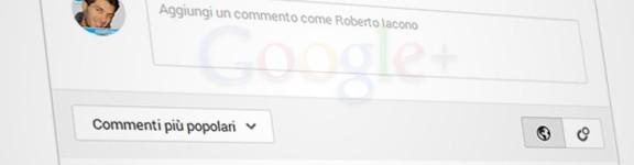 Aggiungere i commenti di Google Plus su un sito o blog