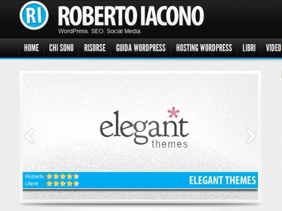Risultato: elegant themes