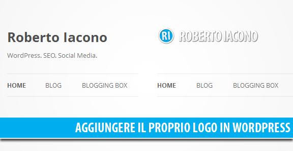 Aggiungere il proprio logo ad un tema WordPress quando non presente