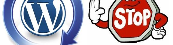 Disabilitare gli aggiornamenti automatici in WordPress dalla 3.7