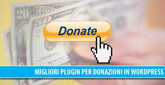 Donazione in WordPress: i migliori plugin