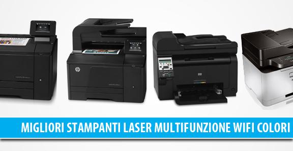 Migliori stampanti Laser Wireless Multifunzione a colori