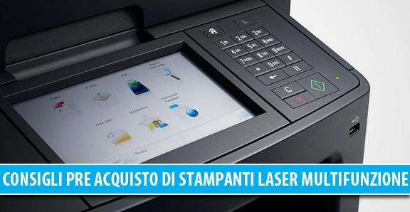 Stampanti laser multifunzione: consigli utili prima dell'acquisto